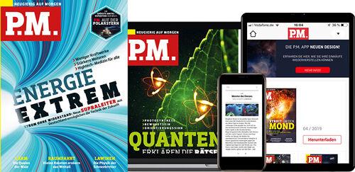 'P.M. im Print-