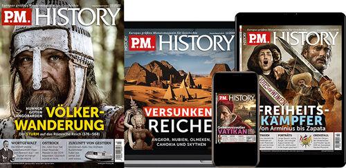 'P.M. HISTORY im Print-