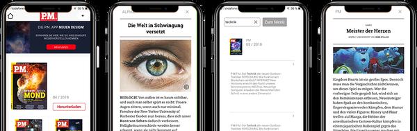 P.M. Magazin-App