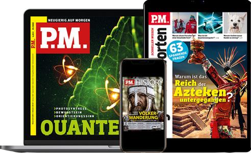 P.M.-Magazine Digital im Abo
